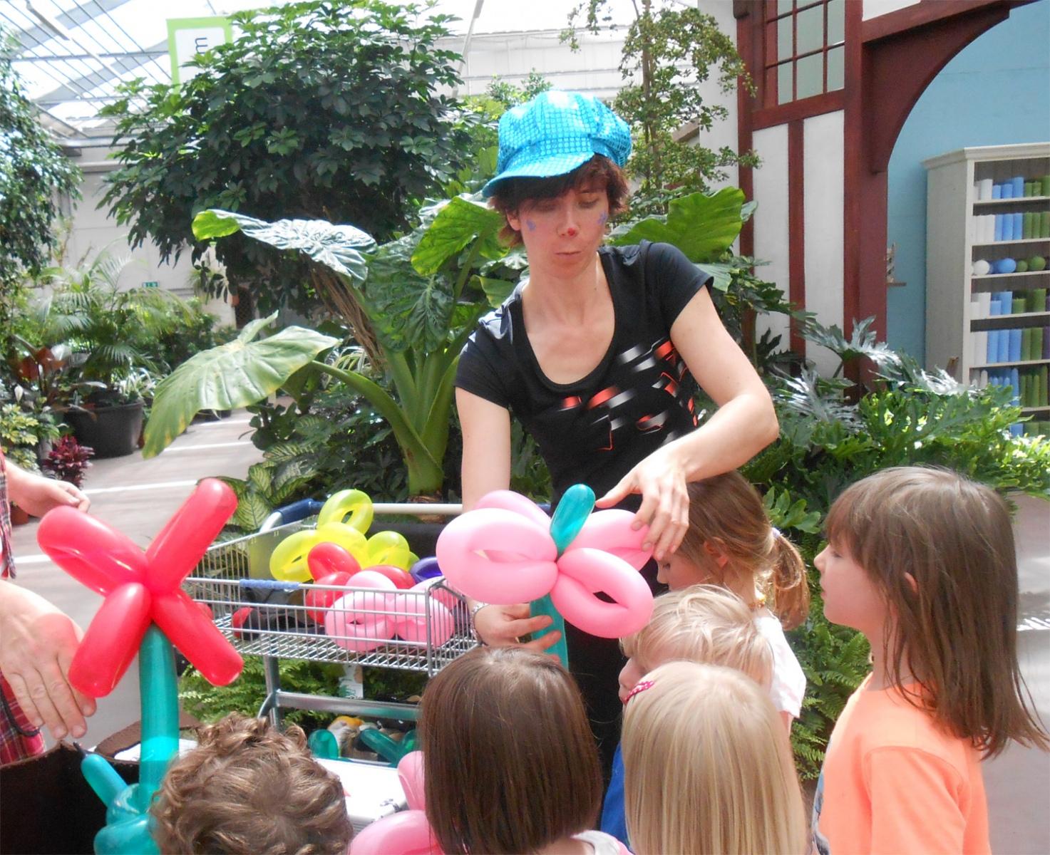 Modellierballons-Zulauf